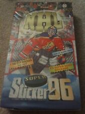 1996 Israel Imperial NHL Hockey Gretzky Roy Stickers Box 48 packs with Inserts