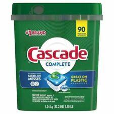 Cascade Complete Fresh Scent Complete Dishwasher Detergent ActionPacs, 90 ct.