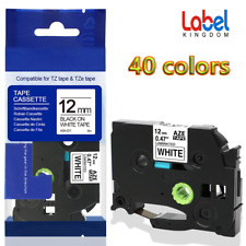 TZe-231 TZe-131 Laminated Label Tape Compatible Brother P-Touch Tze PT-D210 12mm
