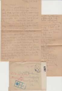 WWI May 1918 Letter from Major of 14th ENGINEER Regt. in France   GREAT CONTENT