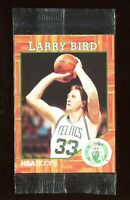 Larry Bird 1991 NBA Hoops Legend Promo Video Card Boston Celtics Sealed Rare *2