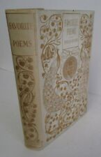 FAVORITE POEMS Popular Authors circa 1910 with Decorated Cover