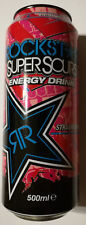 Rockstar Energydrink - Supersours Strawberry, RARE!