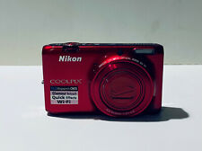 Nikon COOLPIX S6500 16.0MP Digital Camera - Red TESTED