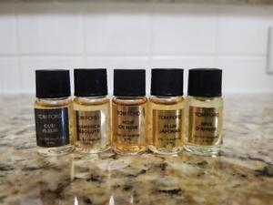 Tom Ford Travel Size Perfume edp, 4 ml/0.13 oz each vial