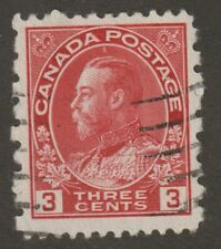 """CANADA 1931 #184 King George V """"Admiral"""" Provisional - F Used"""