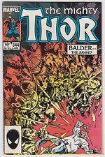 Thor #344 NM- 9.2 Balser The Brave First Malekith Walt Simonson Art!