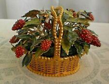 Jane Hutcheson Gorham Fleurs des Siecles Strawberry Basket Gold Metal