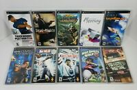 Sony PSP Lot of 10 Games Twisted Metal, Dead to Rights, Socom, Tiger Woods, etc.