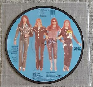 """THE SWEET-SWEET 16/IT'S IT'S....THE SWEET'S-RARE 12"""" LP PICTURE DISC-ANAGRAM-VGC"""