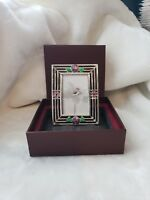 Taylor Avedon collectible Enamel Crystals  picture Frame  new