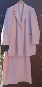 Light Pink Lined Skirt Suit by Classics, Size 24