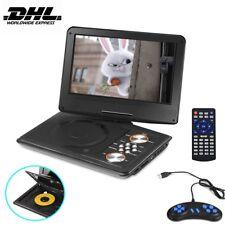 Tragbarer DVD Player Drehbar 11.5 USB/SD TV Radio/Game Reise + Auto-Ladegerät
