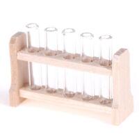 Dollhouse Miniature 1:12 Toy laboratory test tube rack set L 3.7cmJ mi