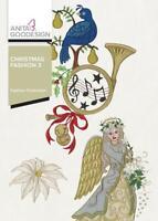Christmas Fashion 3 Anita Goodesign Embroidery Machine Design CD NEW 148AGHD