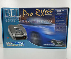 BELTRONICS Pro RX65 Professional Series With Original Case And Manual Nice