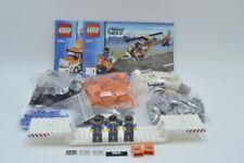 LEGO Set 7686 City Transporter Hubschrauber Motorrad mit BA set with instruction