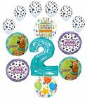 Scooby Doo 2nd Birthday Party Supplies Balloon Bouquet Decorations