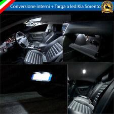 KIT FULL LED INTERNI KIA SORENTO MK1 I CONVERSIONE COMPLETA + LUCI TARGA