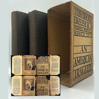 An American Tragedy –  FIRST EDITION – Slipcase & DJ - Theodore DREISER 1925