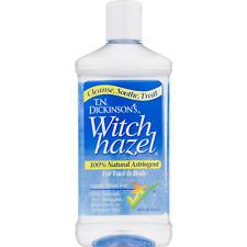 New Dickinson's Witch Hazel Cleansing Astringent 16 Fl Oz.