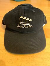 Frank Sinatra Celebrity Golf Hat Cap Black Adjustable Embroidered Lyle & Scott