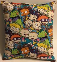 Rugrats Pillow Grouped Rugrats Rare Pillow Handmade in USA