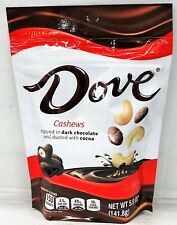 Dove Dark Chocolate Dipped Cashews Dusted with Cocoa 5.0 oz