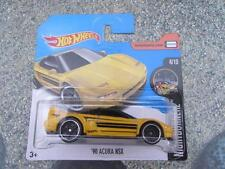 Hot Wheels 2017 #094/365 1990 Acura Nsx Amarillo nightburnez