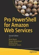 Pro PowerShell for Amazon Web Services by Brian Beach 9781484248492 | Brand New