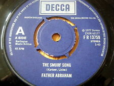 """FATHER ABRAHAM - THE SMURF SONG  7"""" VINYL"""