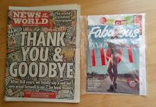 News Of The World - July 10th 2011 - Last Ever Issue - Pixie Lott