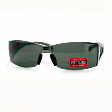 Safety Glasses Sunglasses Rimless Rectangular UV400 ANSI Z87.1 Certified