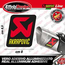 Adesivo Adesivi Stickers AKRAPOVIC 200°GRADI scarichi HONDA KTM DUCATI SUZUKI