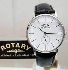 Rotary Les Originales SWISS MADE Mens Watch Leather str. RRP £280 Boxed New(R118