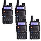 4 × BaoFeng UV-5R LCD 136-174/400-520MHz Dual-Band CTCSS Ham Two Way Radio