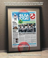 Ghostbusters Fake Newspaper  -  Poster A3 Size