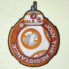 "Star Wars ""Join the Resistance"" Force Awakens 3"" Patch w Droid (Swpa-Fa-05-8)"