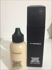 MAC Face & Body Foundation Fond De Teint 50ml C1/C3/C4/N5 ~ choose your shade