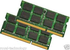 4GB 2X2GB PC3-10600S 1333Mhz DDR3 di memoria RAM Apple MacBook A1278 2011 2012 Pro
