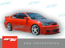 Civic 04-05 2 door coupe BD2 style Poly Fiber full body kit bumper kit