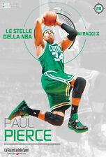 LIBRO BOOK N°28 PAUL PIERCE LE STELLE DELLA NBA AI RAGGI X BOSTON CELTICS