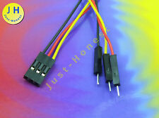 Conector cable-conector 3 polos/Way female-male connector dupont 2.54mm #a1343