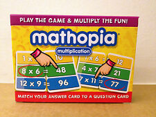 Mathopia Multiplication Card Game