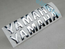 3D Chrome Fuel Gas Tank Badge Fairing Emblem Decal Sticker For Yamaha Motorcycle