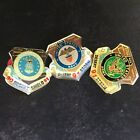 United States Navy Air Force and Army Desert Storm Desert Shield 1991 Pins