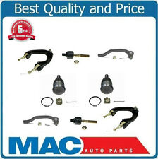 92-96 Prelude Upper Control Arm W Ball Joint Tie Rods Lower Ball Joints Kit 8PC