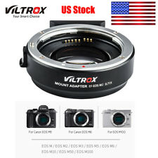 Viltrox EF-EOS M2 Auto Focus Lens Mount Adapter for Canon EF to EOS EF-M Y8M9
