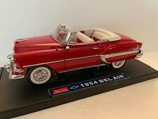 Sun Star 1954 '54 Chevy Bel Air 1:18 Scale Diecast Model Car Chevrolet