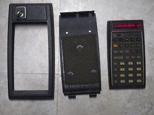 Hp 80 calculator w/ rare security cradle